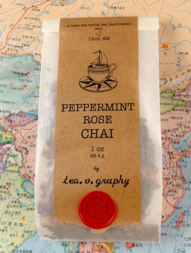 Peppermint Rose Chai Tea