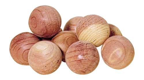 Red Cedar Balls- Set of 10