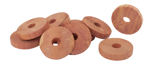 Red Cedar Hanger Disks- Set of 10