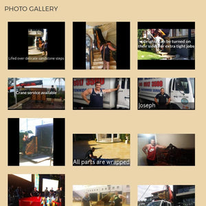 Image And Gallery Page