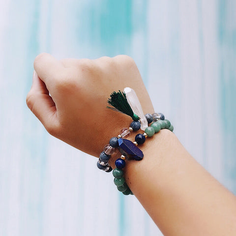Intention:  LET GO with Transformation Bracelet