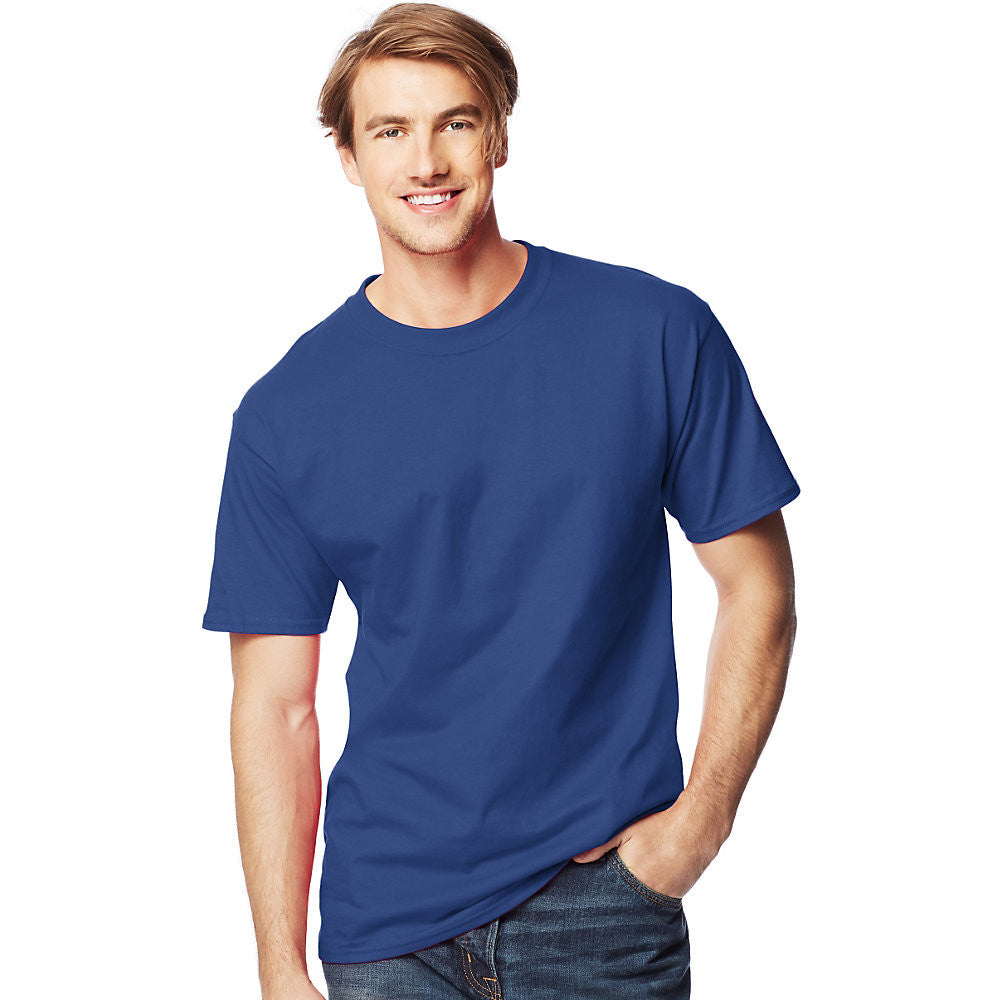 Men's Beefy-T Tall T-Shirt|Size LT|Color Deep Royal