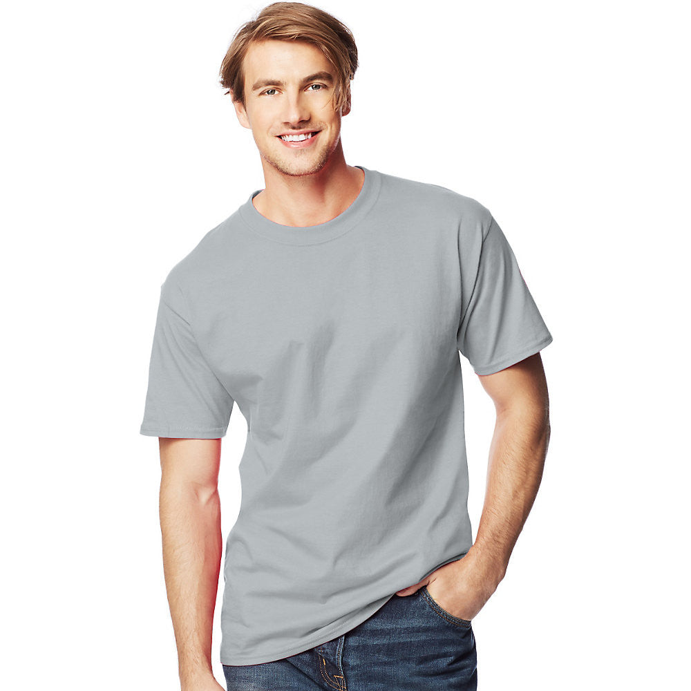 Men's Beefy-T Tall T-Shirt|Size LT|Color Light Steel