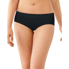 Bali Passion For Comfort Stretch Hipster Panty|Size 6|Color Black