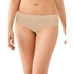 Bali Passion For Comfort Stretch Hipster Panty|Size 6|Color Soft Taupe