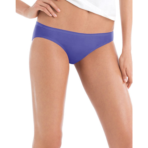 Hanes Women's Cotton Bikini 10-Pack|Size 5|Color Assorted