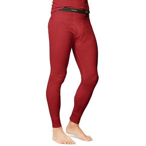 Hanes Men's X-Temp™ Thermal Pant|Size S|Color Red