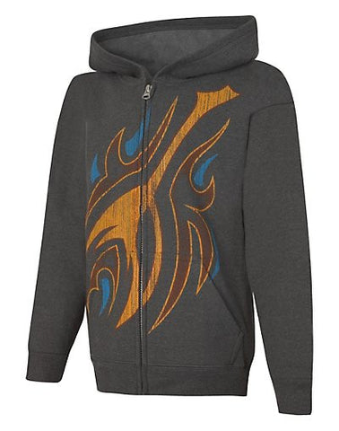 Hanes EcoSmart Fuel the Flames Full-Zip Hoodie Sweatshirt