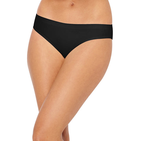 Hanes® Ultimate™ Smooth Tec™ Women's Bikini Panties 3-Pack|Size 5|Color Black/White/Stripe Assorted