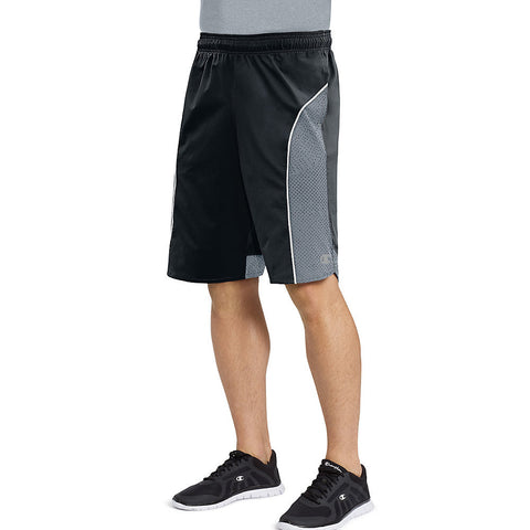 Champion Men's Best Woven Shorts|Size S|Color Black/Concrete