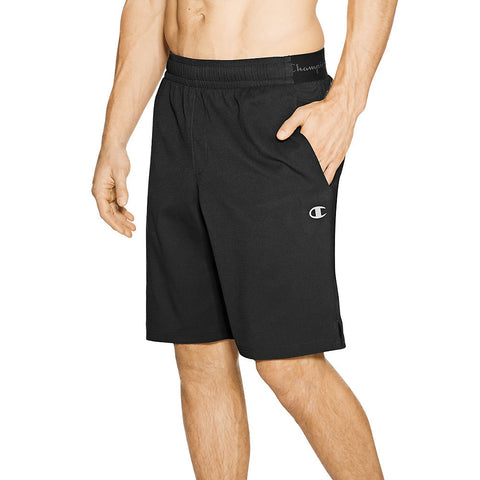 Champion Men's Hybrid Woven Shorts|Size S|Color Black