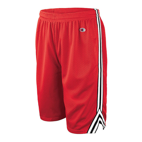 Champion Men's Lacrosse Shorts|Size S|Color Crimson