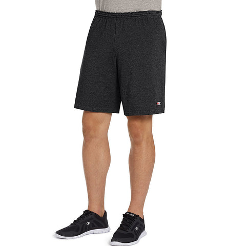 Champion Authentic Cotton 9-Inch Men's Shorts with Pockets|Size S|Color Black