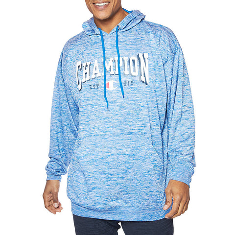 Champion Big & Tall Men's Performance French Terry Hoodie|Size 3XL|Color Navy Heather