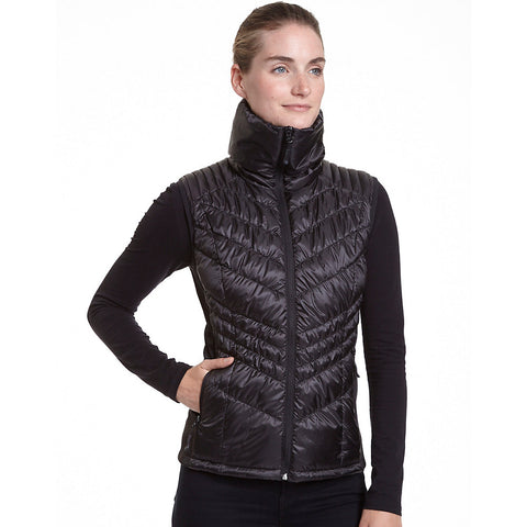 Champion Womens Hybrid Performance Poly w/Active Knit Vest-Plus