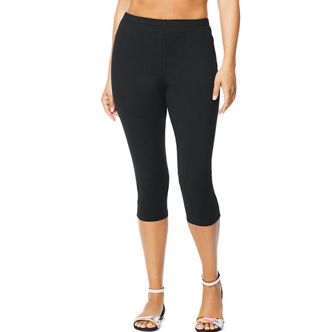Just My Size Stretch Cotton Jersey Women's Capri Leggings
