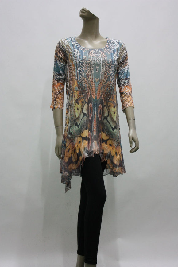 TUNIC 16035010- 2 Prints available