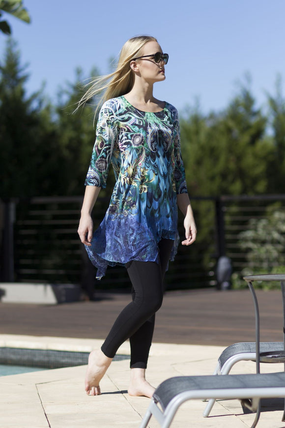 TUNIC 1815010 - 4 Prints available