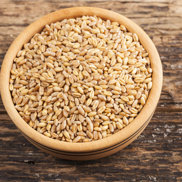 Organic Hard White Wheat Berries