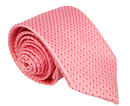 Pink and Red Tie
