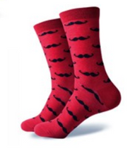 3 Pack Funky Socks (Blue and Red)