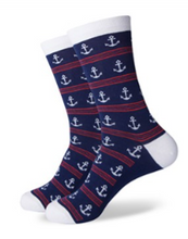 3 Pack Anchor Socks