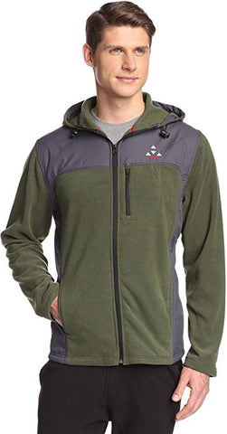 Men's Fleece Comfort Hoodie Jacket