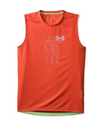 Mens Graphic Muscle Tee
