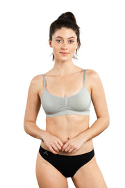 Balanced Tech Seamless Day Bra Grey