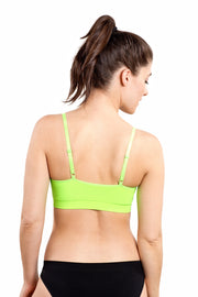 Balanced Tech Seamless Day Bra Green Gecko