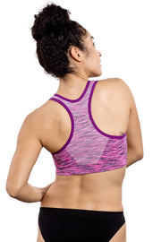 Balanced Tech High Impact Sport Bra Purple