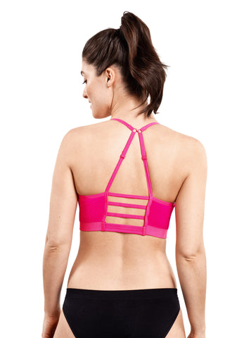 Multi-way Sport Bra | Pink Glo