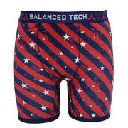 BALANCED TECH DIAGONAL RWB PERFORMANCE BOXER BRIEF