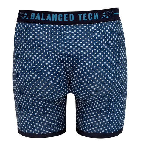BALANCED TECH STARS FOREVER PERFORMANCE BOXER BRIEF