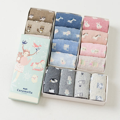 Sock Gift Box 4 Pair