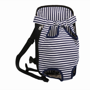 Striped Small Pet Carrier