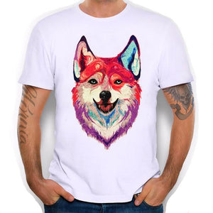 Husky Watercolor Tee