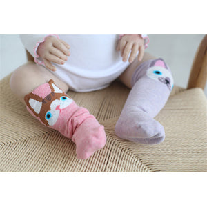 Toddler Knee High Dog Socks