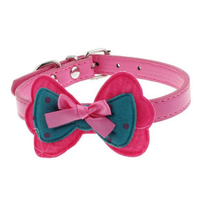 Girlie 3D Bow Collar