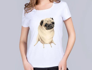 Toothpick Legs Dog Tee