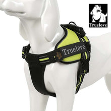 Truelove Pet Dog Collar Harness Vest Small Large Mesh Heavy Duty Reflective Harness Dog Pet Supplies For Dogs Dropshipping 7Size