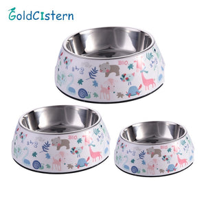 Forest Theme Food and Water Bowl