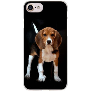 I love my Beagle Clear Cell Phone Case iPhone
