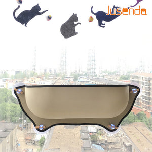 Hot Sale Cat Hammock Bed Mount Window Pod Lounger Suction Cups Warm Bed For Pet Cat Rest House Soft And Comfortable Ferret Cage