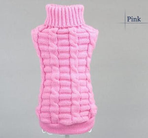 TAILUP Pet Warm Supplies Rabbit Clothing Puppy Dog Sweater Teddy Poodle Kitten Dresses Clothes Small Cat Sweater Vests 6 Sizes