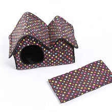 Soft Indoor Dog or Cat House and Pet Bed