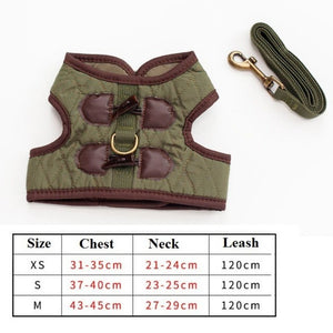 NEW Dog Pet Harness Outdoor Walking Pet Lead Jeans Pet Vest Harness For Small Puppy Dogs Leash Dring Teddy Poddle 3 Size XS S M