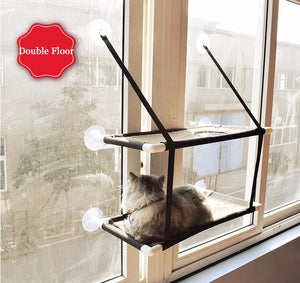 Window Mounted Cat Lounger