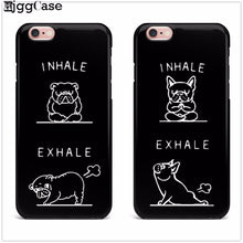 French Bulldog Yoga iPhone Case