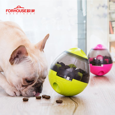 Pet Dog Toys Tumbler Leakage Ball Dog Bite Toy Removable Dogs Feeding Ball Dispenser Chewing Products